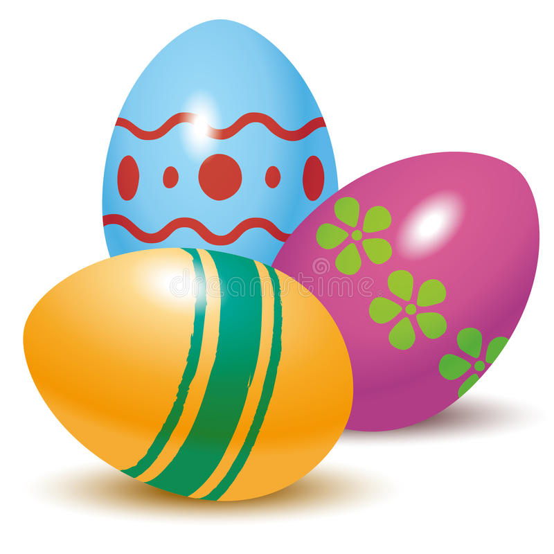 Free Easter Eggs Royalty Free Stock Photo - 37236825