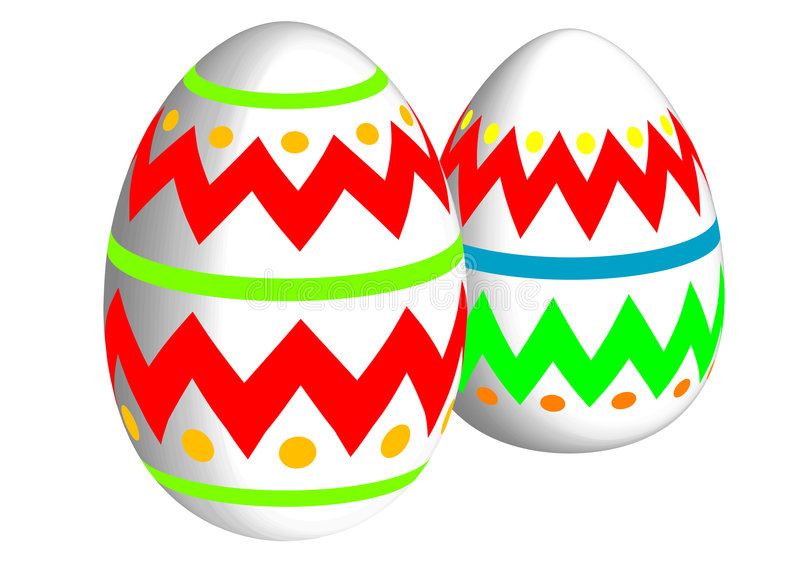 Download Easter eggs stock vector. Image of chick, eastereggs, health - 4035995