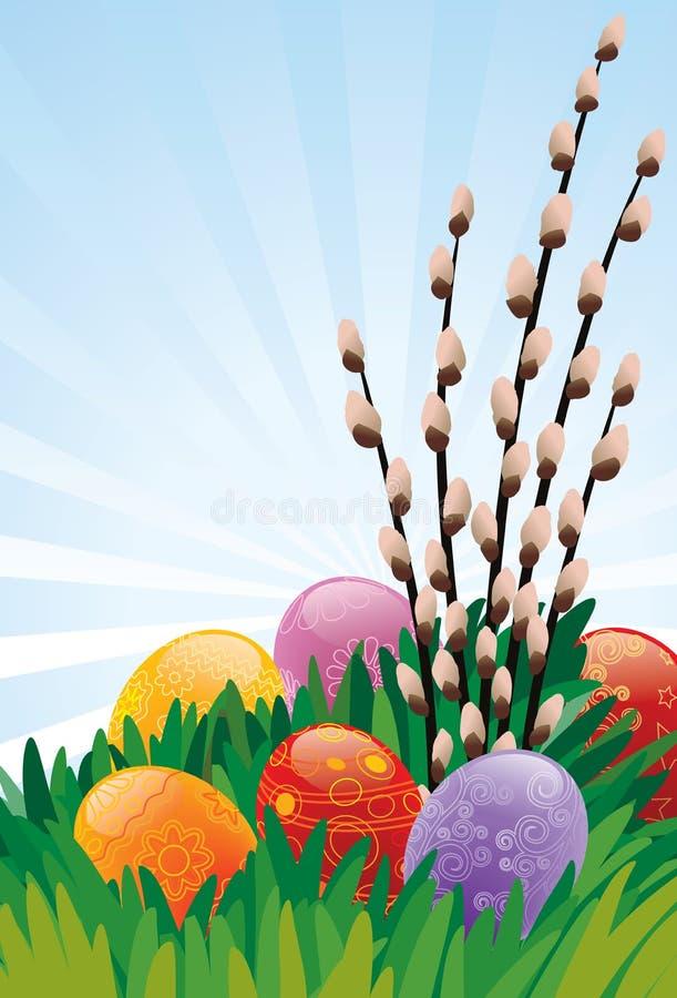 Download Easter eggs stock vector. Illustration of easter, april - 4562308