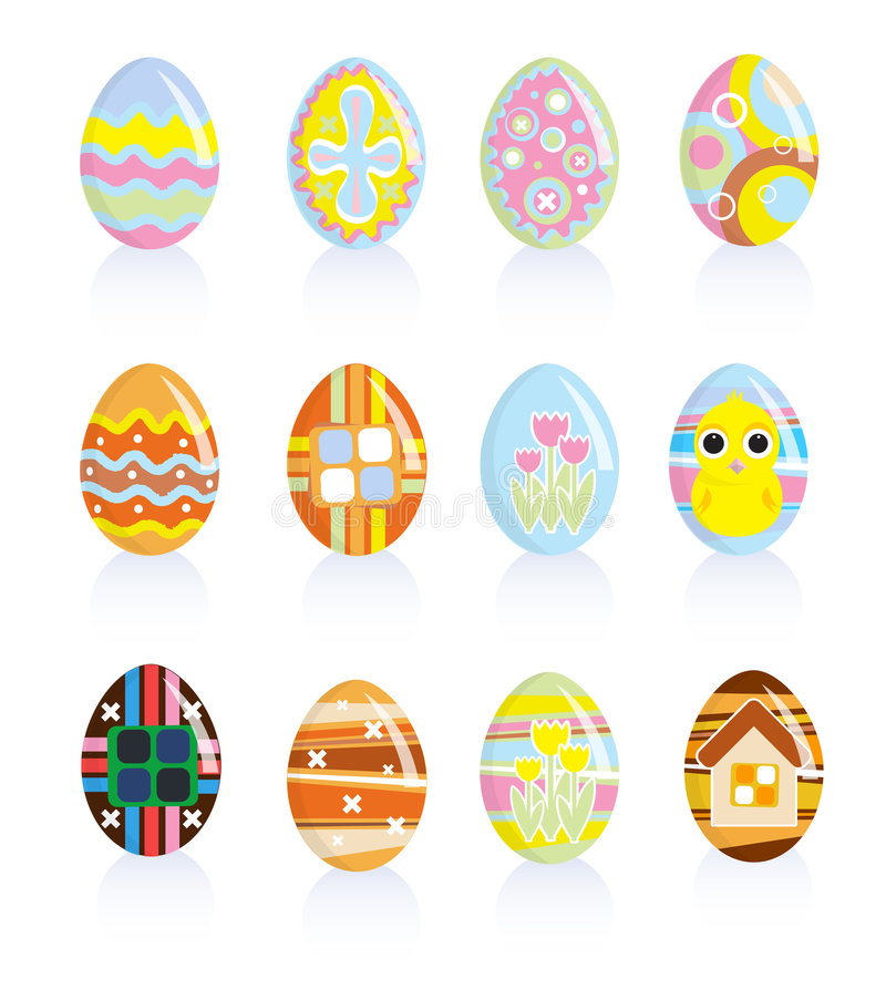Free Easter Eggs Royalty Free Stock Images - 8634139