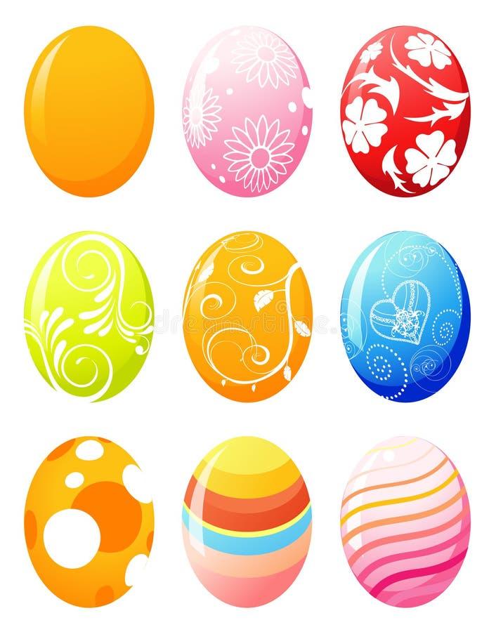 easter eggs иллюстрация вектора