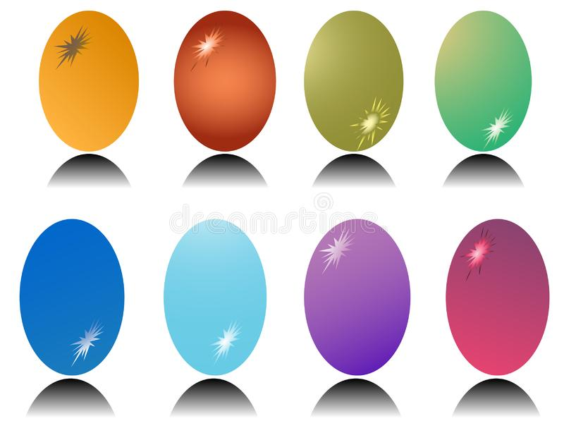Download Easter eggs stock vector. Illustration of animal, hare - 8851864
