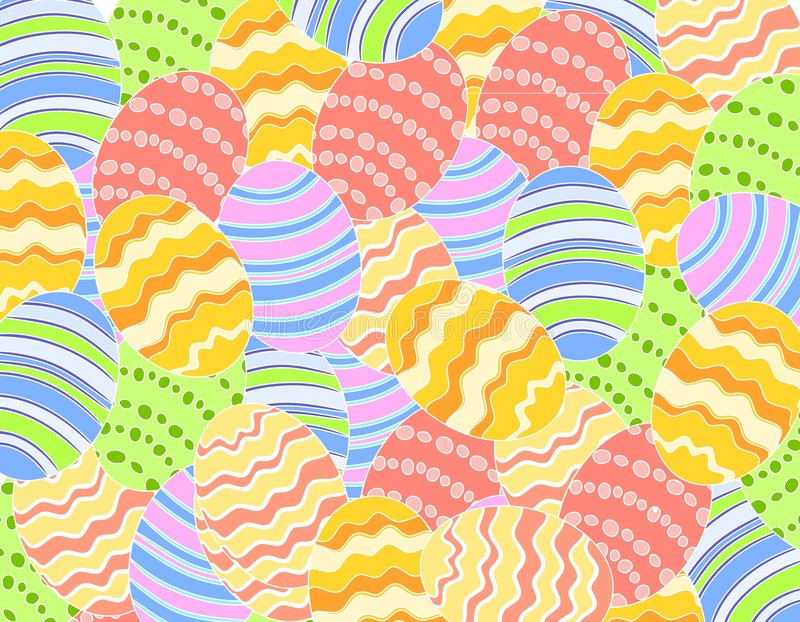 Download Easter Eggs Background stock vector. Illustration of background - 4008674