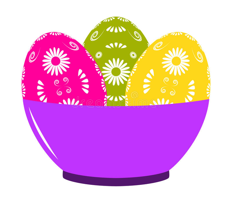 Download Easter Eggs In Bowl Stock Photos - Image: 23533273