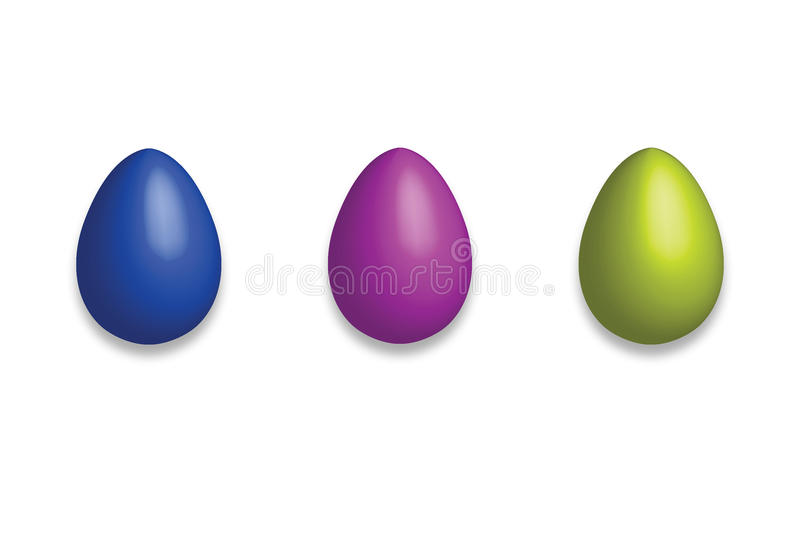 Easter eggs card stock images