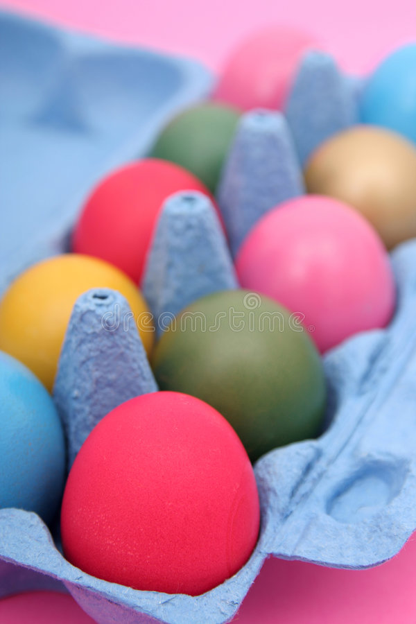 Download Easter Eggs In Carton Stock Images - Image: 522914