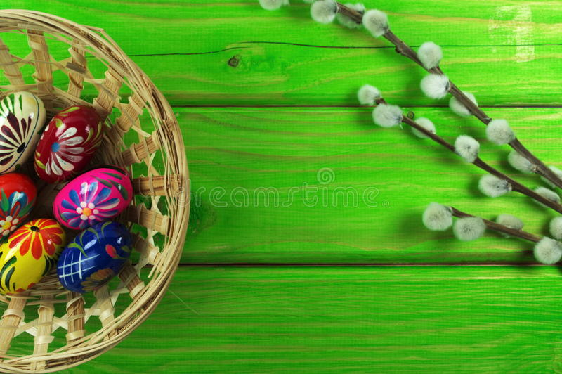 Download Easter eggs stock photo. Image of daffodil, colorful - 39504688