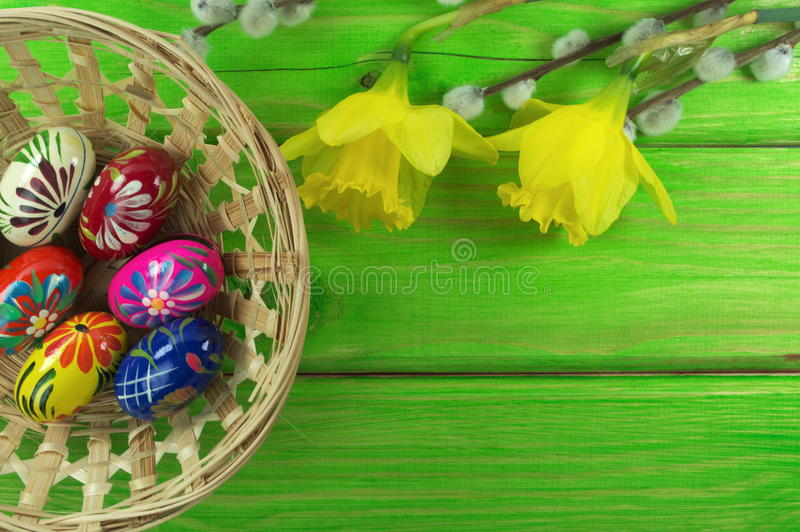 Download Easter eggs stock image. Image of tulip, boards, chicks - 39504695