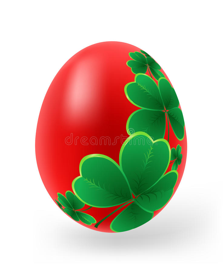 Download Easter Eggs With Decor Elements Stock Vector - Illustration: 18884399