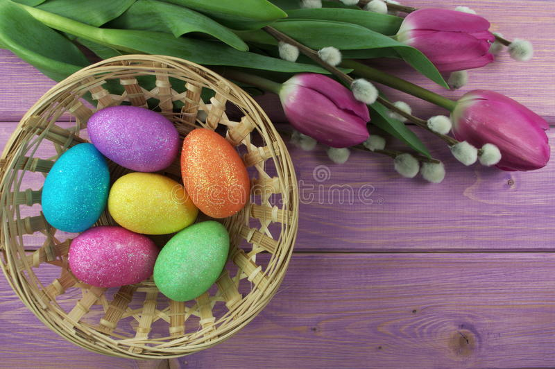 Download Easter eggs stock image. Image of nature, easter, based - 39504739