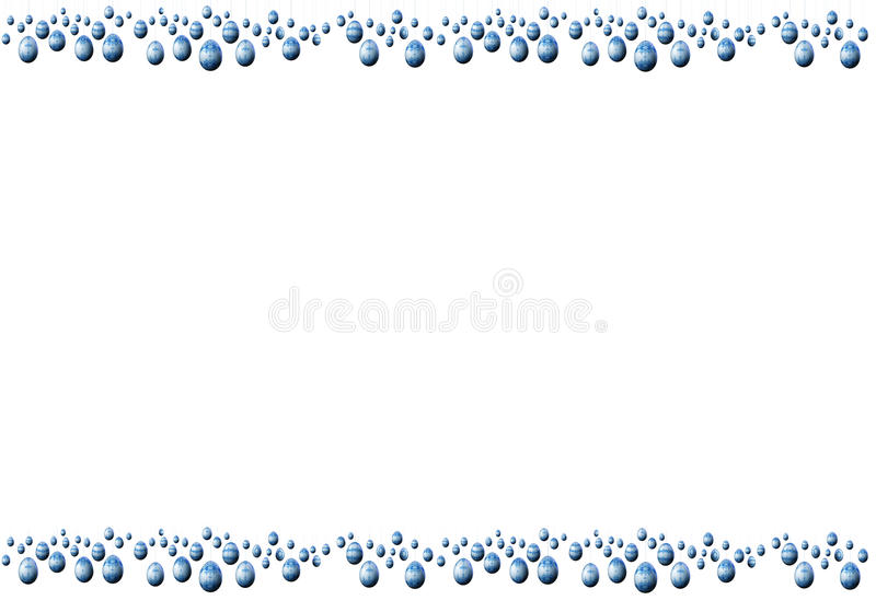 Download Easter Eggs frame stock illustration. Image of painted - 12977816