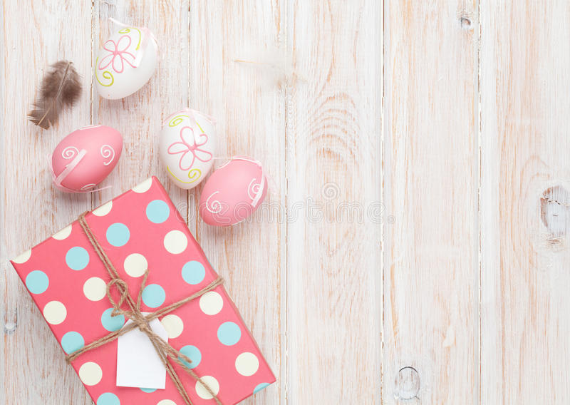 Easter eggs and gift box stock photo image of pastel 51069994 download easter eggs and gift box stock photo image of pastel 51069994 negle Gallery