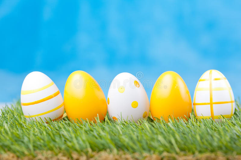 Download Easter eggs stock photo. Image of egg, blue, beautiful - 29745760