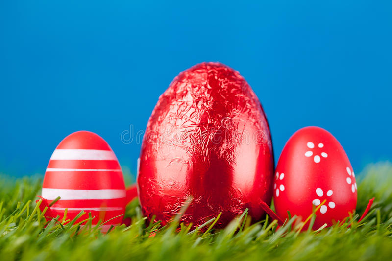 Download Easter eggs stock image. Image of chocolate, multi, april - 29909757