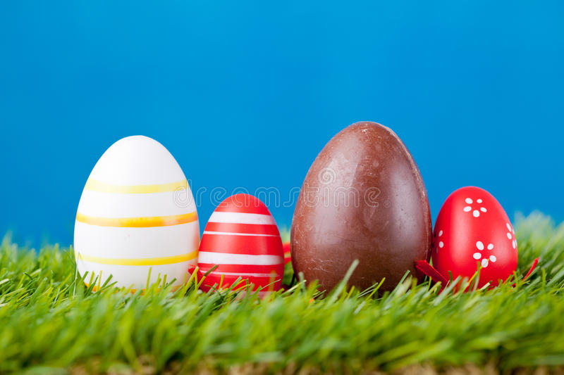 Download Easter eggs stock image. Image of objects, nobody, easter - 29980157
