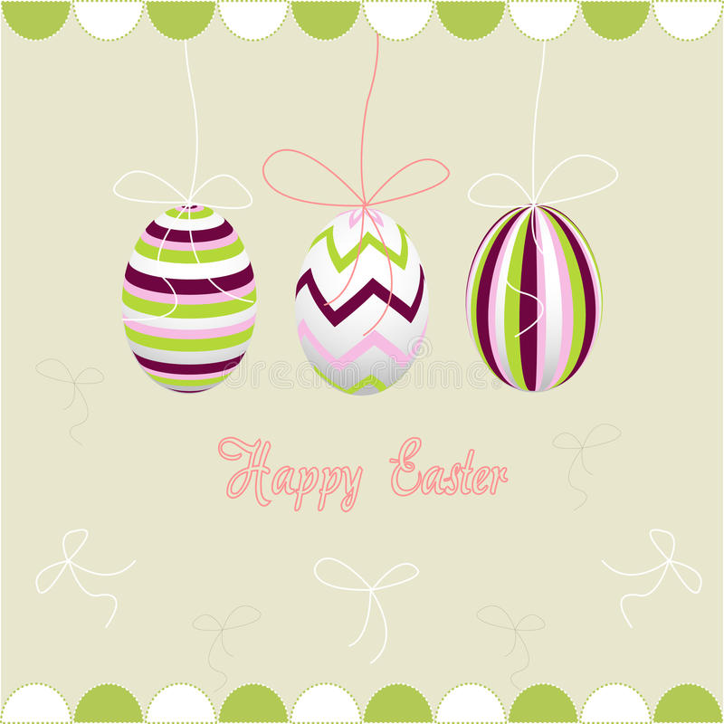 Easter eggs, happy easter royalty free stock images