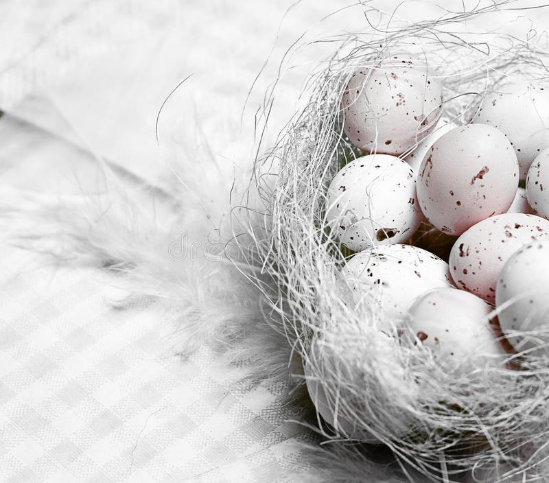 Download Easter Eggs In Nest Royalty Free Stock Photography - Image: 24192277