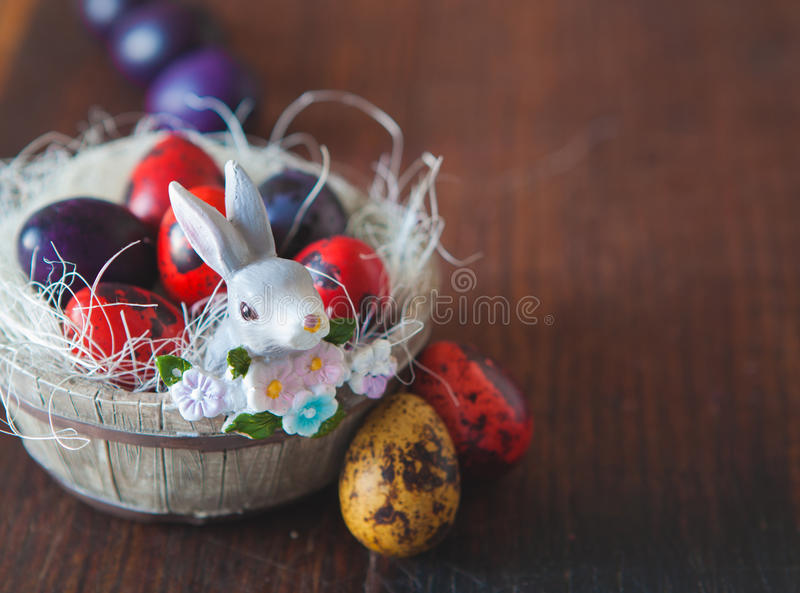 Download Easter eggs stock photo. Image of floral, ornate, color - 83710724