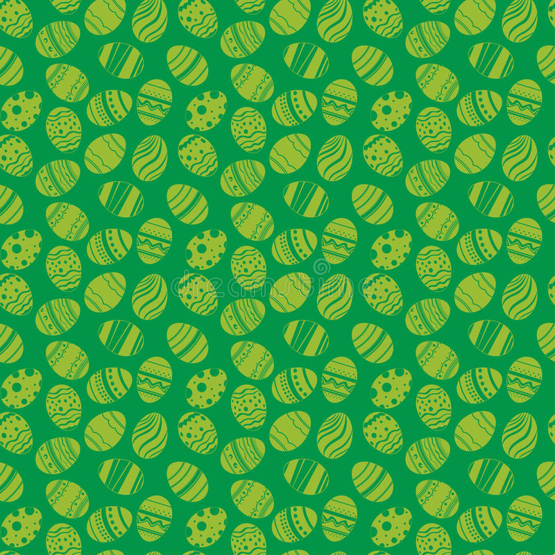 Easter eggs ornaments seamless pattern easter holiday green download easter eggs ornaments seamless pattern easter holiday green background for printing on fabric negle Image collections