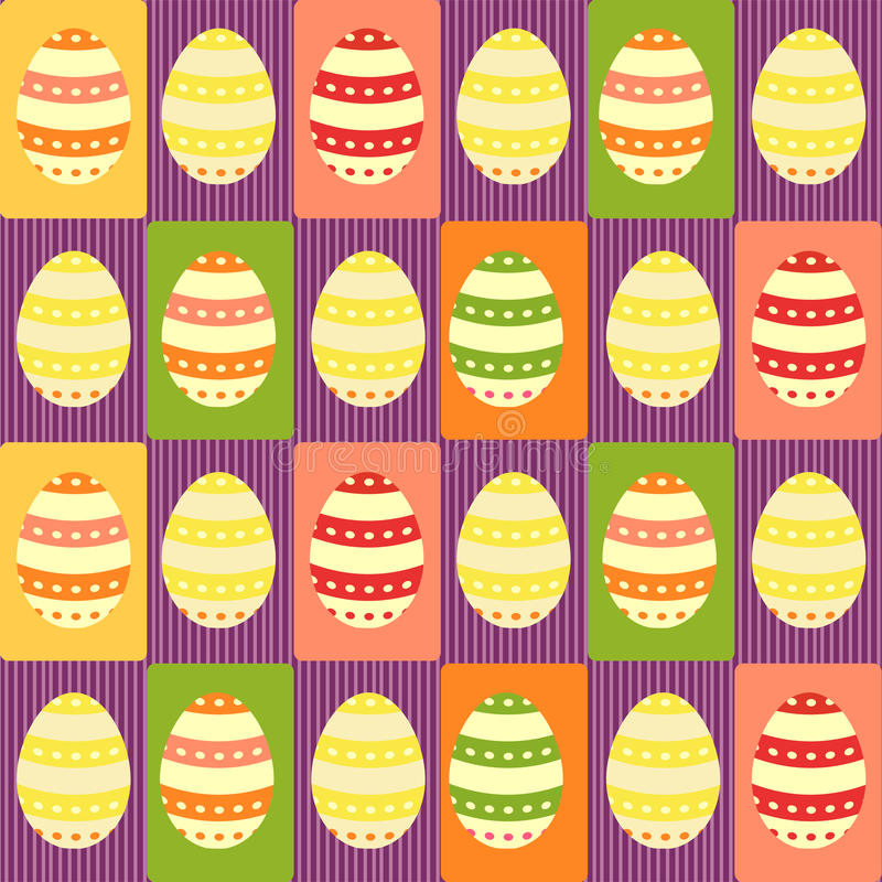 Download Easter Eggs - Packing Paper Stock Vector - Image: 13496871