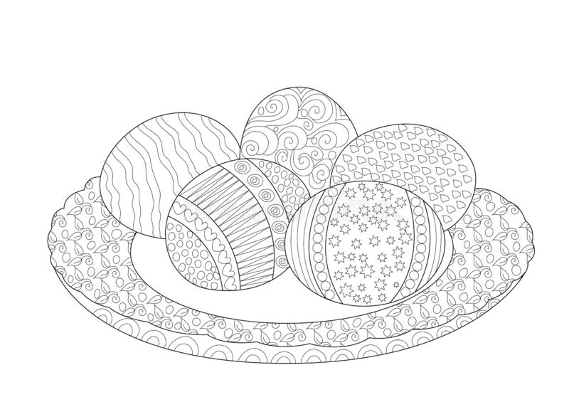 Easter egg coloring pages images whole pie | 565x800