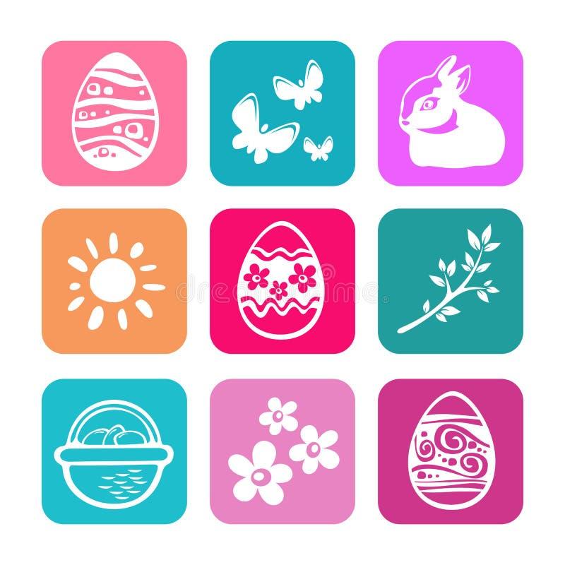 Easter eggs vector illustration