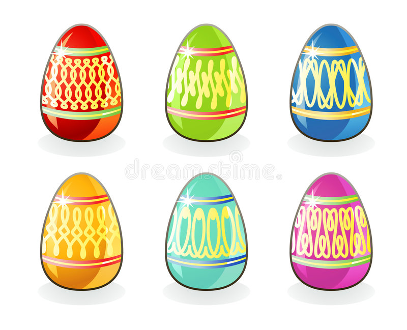 Download Easter eggs / vector stock vector. Image of christianity - 4114723