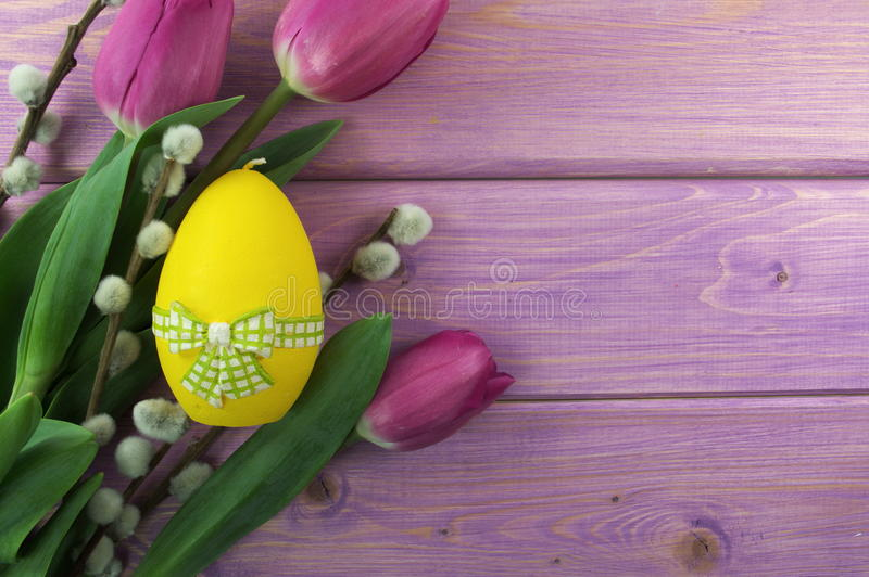 Download Easter eggs stock photo. Image of buckets, easter, tulips - 39504752