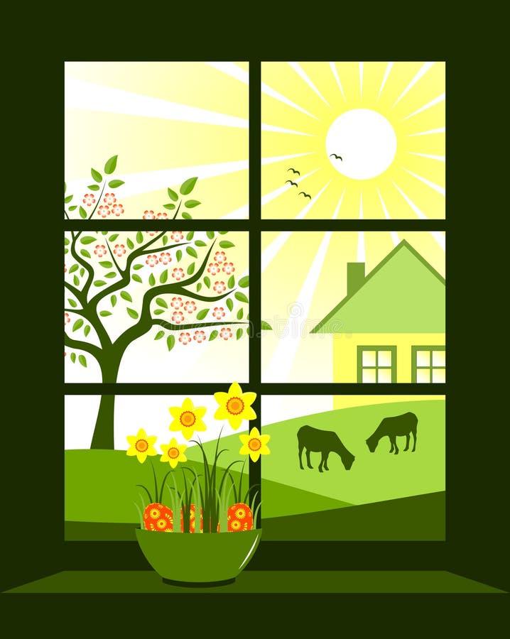 Easter fönster