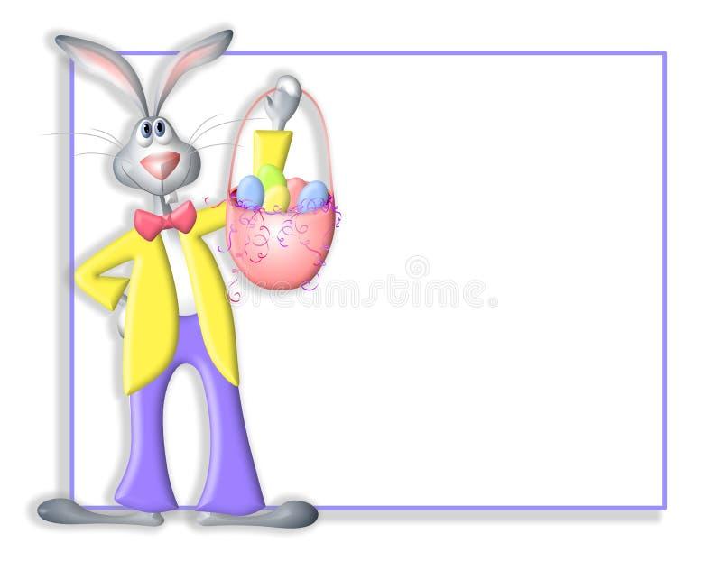 easter för kantkanintecknad film kanin