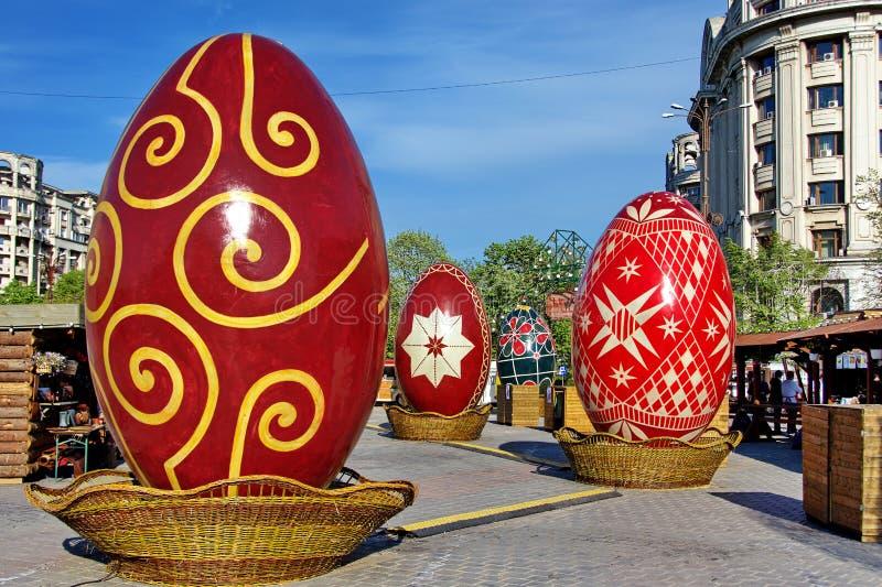 Easter Fair in Bucharest, Romania stock photos