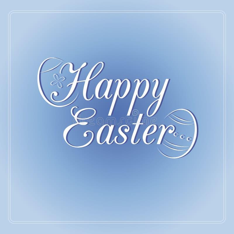 Easter feliz ilustração stock