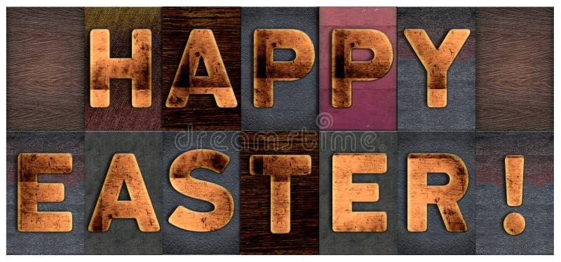 Easter feliz ilustração do vetor