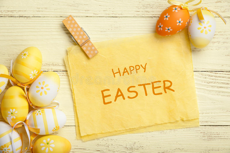 Easter feliz foto de stock royalty free