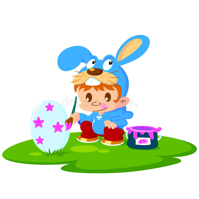 Easter festival royalty free stock image