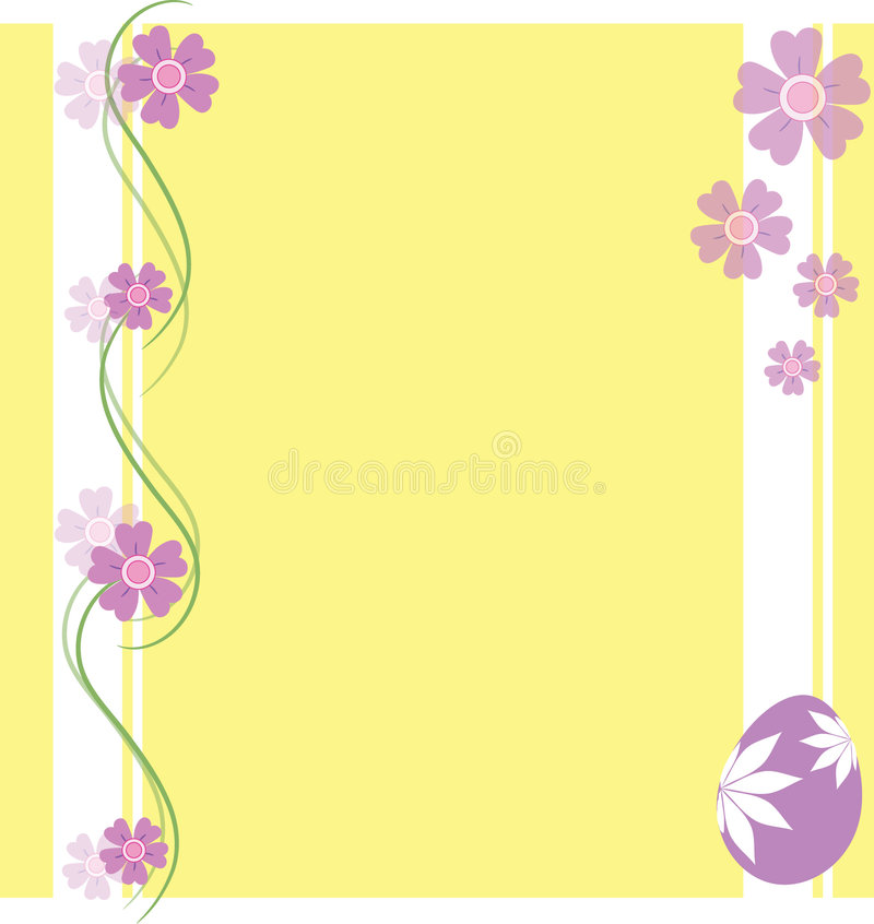 Free Easter Floral Background Royalty Free Stock Image - 8408306