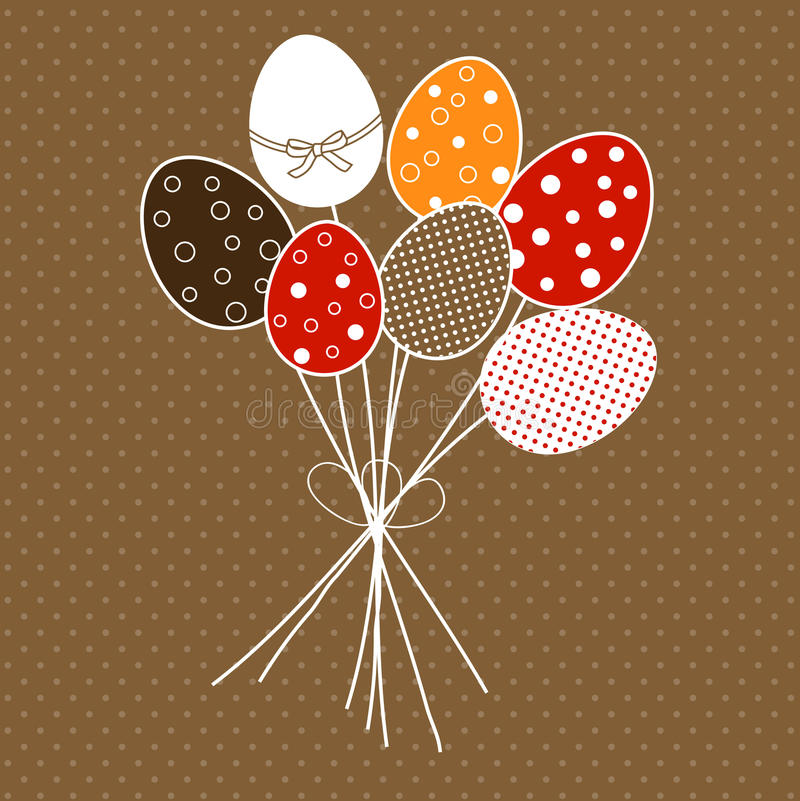 Download Easter Floral Design With Eggs Stock Vector - Image: 23956139
