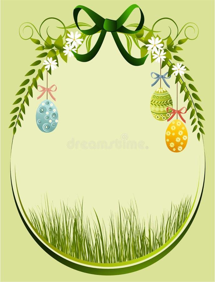 Download Easter floral frame stock vector. Image of elegant, easter - 23493528