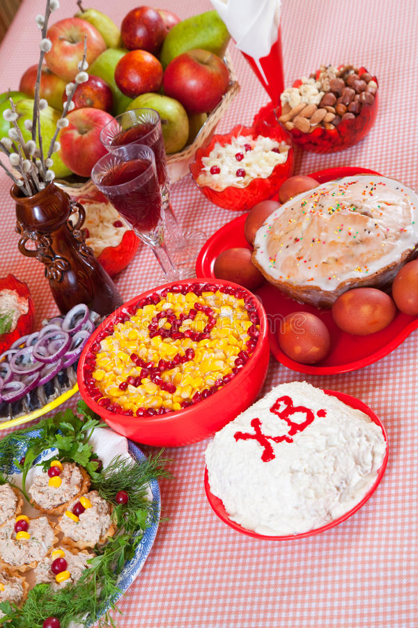 Easter food royalty free stock image