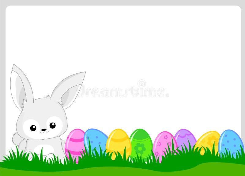 Easter frame stock vector. Illustration of colors, artwork - 19549366