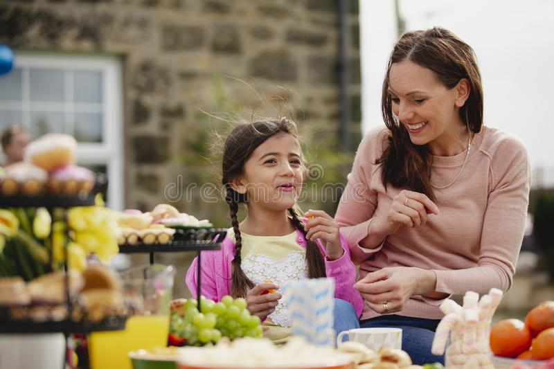 Easter Garden Party royalty free stock images