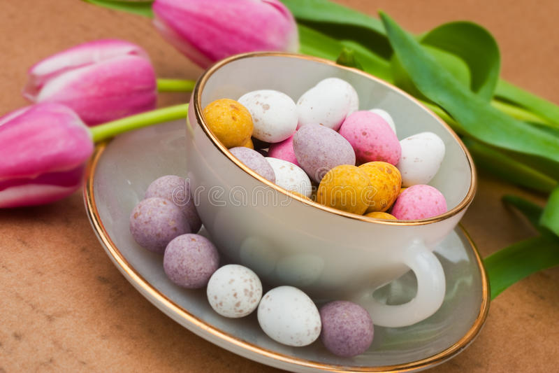 Easter gift royalty free stock photo