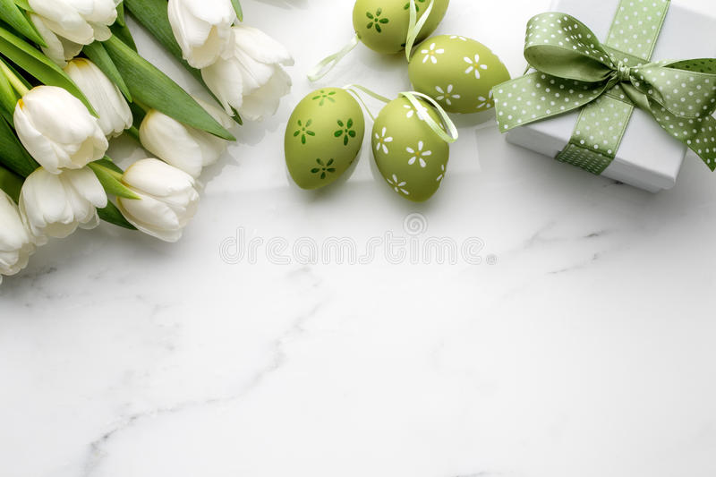Easter gift royalty free stock photos