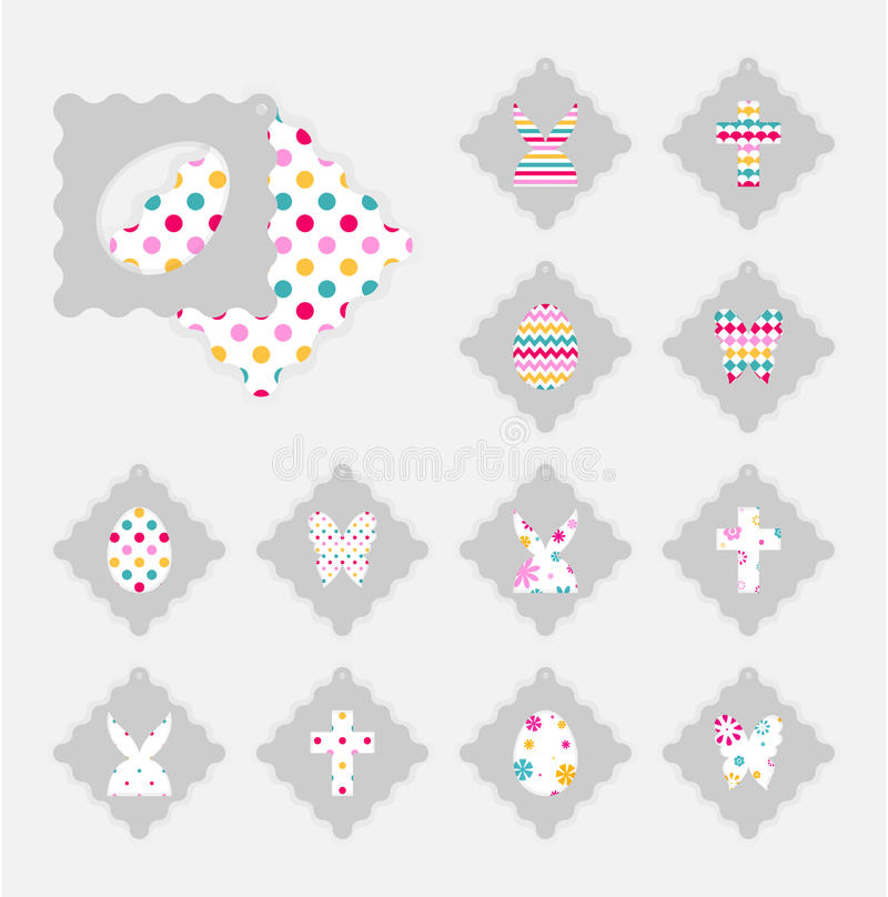 Easter gift tags stock vector image 88510765 download easter gift tags stock vector image 88510765 negle Gallery