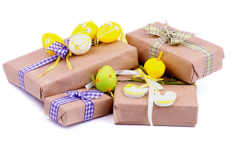 Easter gifts stock image image of goodies checked theme 34304465 easter gifts negle Choice Image