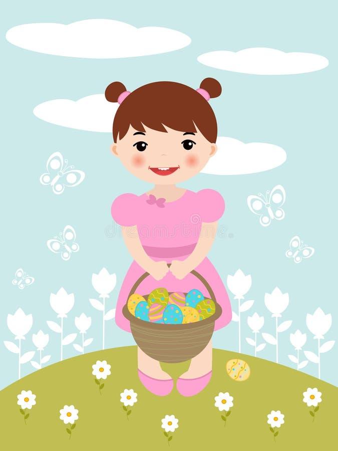 Easter Girl Stock Photos