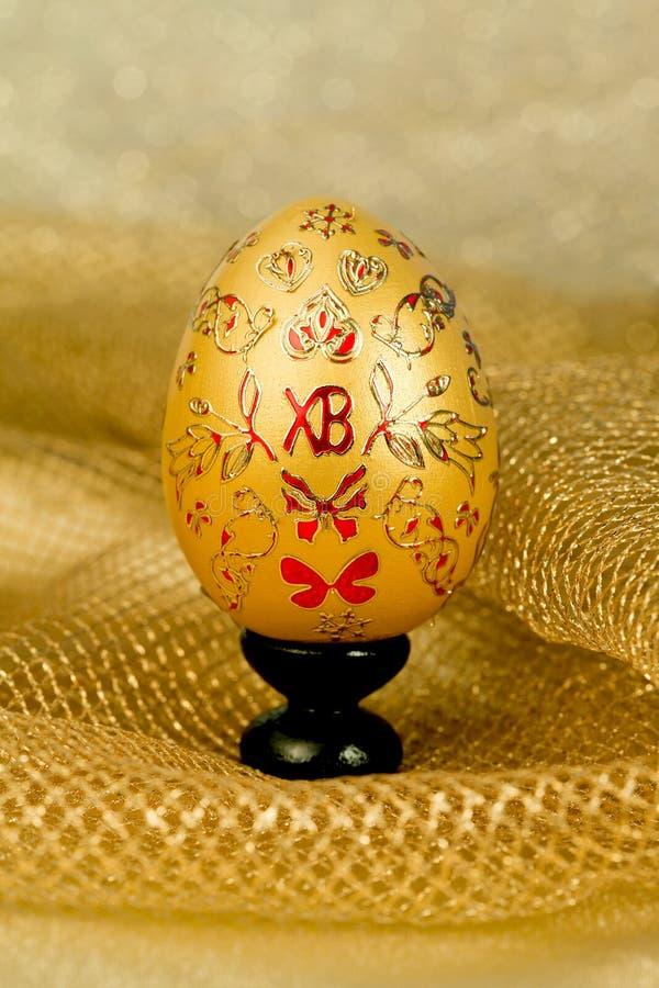 Easter golden egg royalty free stock photos