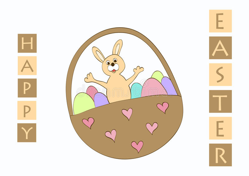 Download Easter greeting card stock vector. Illustration of spring - 13001644
