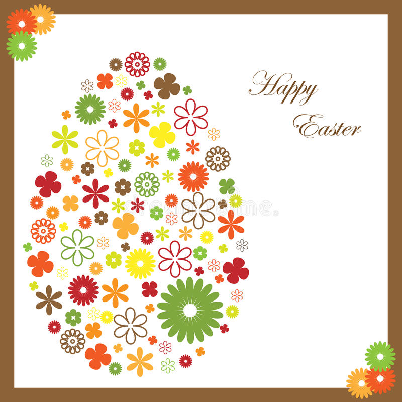 Download Easter greeting card stock vector. Illustration of tradition - 13259664