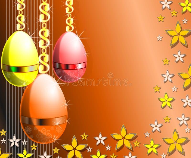 Download Easter greeting card stock illustration. Illustration of decorations - 26613594
